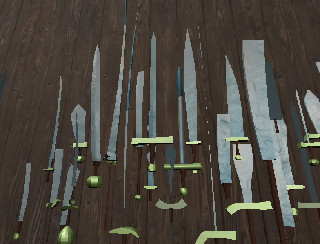 3D game videogame freelance developer Milan Unity Unreal swordgenerator